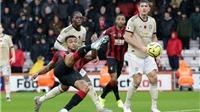 Bournemouth 1-0 MU: Hàng công bế tắc toàn tập, MU trắng tay rời Vitality