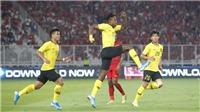 Xem bóng đá trực tiếp: Malaysia vs Indonesia (19h45 hôm nay)