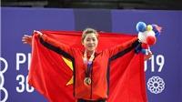 Hoàng Thị Duyên giành HCV SEA Games sau chiến thắng tuyệt đối ở nội dung cử tạ 59kg