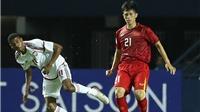Tin tức bóng đá U23 Việt Nam vs Jordan hôm nay 14/1: Đình Trọng quyết vượt khó