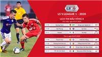 Kết quả bóng đá V-League 2020. Kết quả bóng đá Việt Nam hôm nay