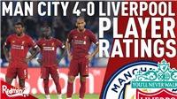 Kết quả bóng đá Ngoại hạng Anh vòng 32: Liverpool thua sốc Man City