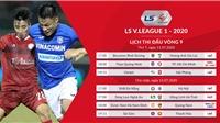Cập nhật kết quả bóng đá và Bảng xếp hạng V-League 2020 sau vòng 10