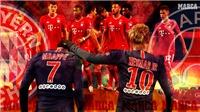 Xem trực tiếp bóng đá PSG vs Bayern Munich. Link xem trực tiếp chung kết cúp C1