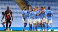 Video clip bàn thắng trận Man City vs Arsenal