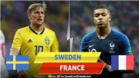 Xem trực tiếp bóng đá Thụy Điển vs Pháp ở đâu? Link xem trực tiếp Nations League