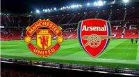 Lịch thi đấu Ngoại hạng Anh vòng 7: Đại chiến MU vs Arsenal