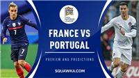Link xem trực tiếp bóng đá.Pháp vs Bồ Đào Nha. Xem trực tiếp Nations League