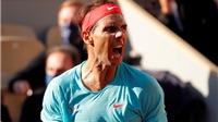 Kết quả chung kết Roland Garros: Nadal vô địch sau chiến thắng thuyết phục trước Djokovic