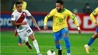 Video clip bàn thắng trận Peru 2-4 Brazil: Neymar rực sáng