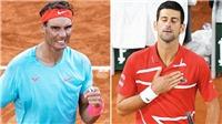 Link xem trực tiếp tennis. Djokovic đấu với Nadal. Chung kết Pháp mở rộng 2020