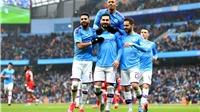 Bảng xếp hạng Ngoại hạng Anh: Man City tiếp tục bỏ xa MU