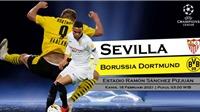 Video clip bàn thắng trận Sevilla vs Dortmund