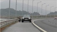 Dừng xe để bắn chim trên cao tốc, người đàn ông bị phạt tiền, tước giấy phép lái xe