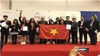 Cuộc thi Phát minh sáng chế quốc tế INOVA 2019: Đoàn học sinh Việt Nam giành Cúp đặc biệt và Huy chương Vàng