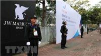 Thượng đỉnh Mỹ - Triều lần 2: Siết chặt an ninh Trung tâm Hội nghị Quốc gia và khách sạn JW Marriott