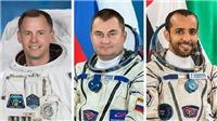 Ba nhà du hành vũ trụ trở về Trái Đất an toàn sau nhiều ngày ở trên Trạm Vũ trụ Quốc tế
