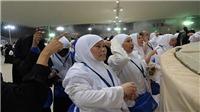 Người hành hương Hồi giáo thực hiện nghi lễ ném đá vào quỹ dữ