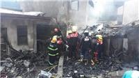 Rơi máy bay chở 8 người xuống khu nghỉ dưỡng ở Philippines