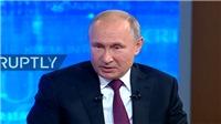 Tổng thống Nga Putin đối thoại trực tuyến: Cuộc chiến chống tham nhũng là không khoan nhượng