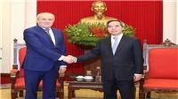 Trưởng ban Kinh tế Trung ương tiếp Phó Chủ tịch Tập đoàn Gazprom và Đoàn Giáo sư Đại học Havard