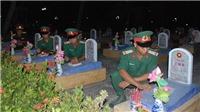 Xúc động chương trình 'Cung đường bất tử' tại Nghĩa trang Liệt sỹ Quốc gia Đường 9