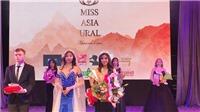 Miss Asia Ural 2019 tại Nga: Nữ sinh của Việt Nam giành giải Á hậu 2 và Hoa hậu Thân thiện