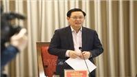 Bí thư Thành ủy Hà Nội Vương Đình Huệ: Tinh giản biên chế phải gắn với nâng cao chất lượng cán bộ