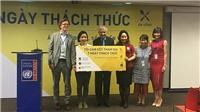 Ca sĩ Mỹ Linh đi giày 'second-hand' đên chiến dịch#7 ngày thách thức
