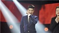 Tập 8 'Giọng hát Việt 2018': Noo Phước Thịnh 'bật khóc' trước hành động của Thu Phương