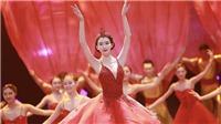 Mỹ nhân Lâm Chí Linh gây bão với màn múa nước xuất thần trong Gala chào Xuân