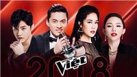 Chính thức lộ diện đội hình HLV Giọng hát Việt 2018: Cuộc đấu giữa kinh nghiệm và sức trẻ
