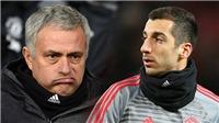 TIN HOT M.U 10/2: Wenger bảo vệ Sanchez. Mkhitaryan chê Mourinho. Chốt tân binh 45 triệu bảng
