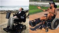 Neymar hứng 'bão' chỉ trích vì ngồi xe lăn, ví chấn thương với bệnh tật của Stephen Hawking