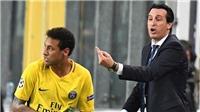 Emery lên tiếng vụ Neymar coi thường PSG: 'Cậu ta không hề gọi cho tôi để chúc mừng'