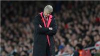 Wenger: 'Đây là kết quả tệ hại nhất của Arsenal'. Simeone bị đuổi vẫn... sướng