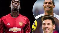 TIN HOT M.U: Umtiti đang chơi 'trò 2 mặt'. Pogba phát biểu bất ngờ về Messi và Ronaldo