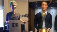 Cristiano Ronaldo mất ngôi vua trên mạng xã hội vào tay game thủ 26 tuổi