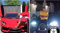 Choáng ngợp trước bộ sưu tập xe khủng trị giá 3 triệu bảng của Benzema