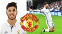 TIN HOT M.U 2/5: Ra giá mua Asensio. Cho mượn Lindelof. Mourinho nguy cơ mất 'cánh tay phải'