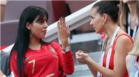 Bạn gái tới sân cổ vũ Cristiano Ronaldo, khoe nhẫn đính hôn