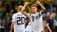 CẬP NHẬT sáng 24/6: Toni Kroos đi vào lịch sử. Lukaku chấn thương. FIFA điều tra Xhaka & Shaqiri