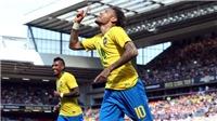Fan ngất ngây với pha solo ghi bàn đẳng cấp của Neymar vào lưới Croatia