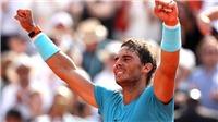 TENNIS 9/6: Nadal cân bằng kỳ tích của Federer. HLV thú nhận sự thật về Djokovic