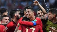 CHÙM ẢNH: Ronaldo một mình 'gánh team' Bồ Đào Nha, toả sáng trước Tây Ban Nha
