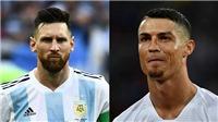 TIN HOT World Cup 1/7: Ronaldo lại 'bắt chước' Messi. Thêm một cầu thủ chia tay Argentina