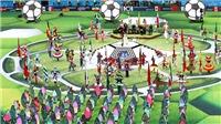 Trực tiếp Lễ bế mạc và Chung kết World Cup 2018