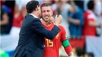 Ramos bị chế giễu với khoảnh khắc bật khóc khi bại trận