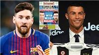 CẬP NHẬT sáng 27/7: Inter chính thức lên tiếng vụ Messi. Juve định ngày Ronaldo ra mắt. M.U đón tin dữ