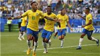 CẬP NHẬT sáng 2/7: Neymar giúp Brazil vượt kỳ tích của Đức. Arsenal công bố tân binh thứ 3
